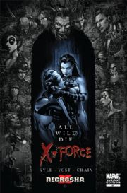 X-Force #25 Clayton Crain Retail Variant X-Necrosha (2009) Marvel comic book